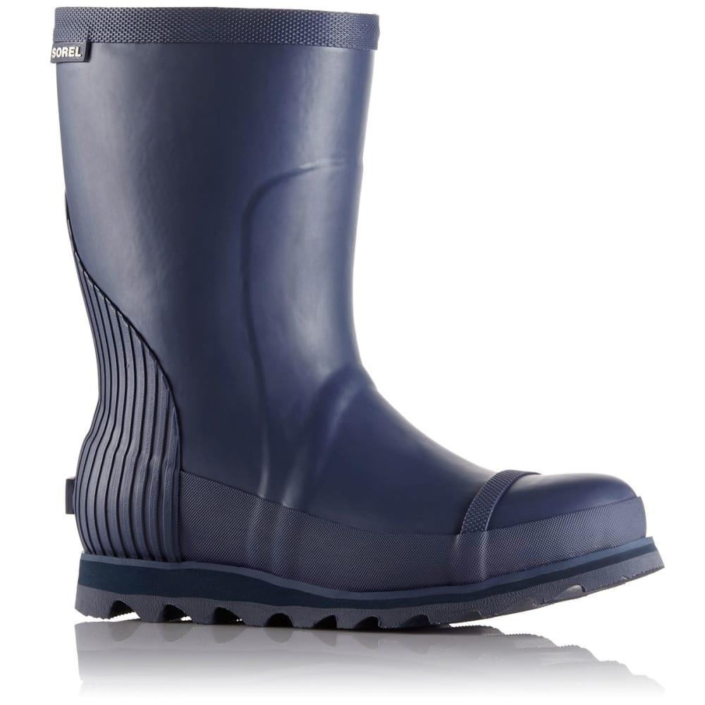 SOREL Women's Joan Rain Short Boots, Nocturnal/Atmosphere - NOCTURNAL/ATMOSPHERE