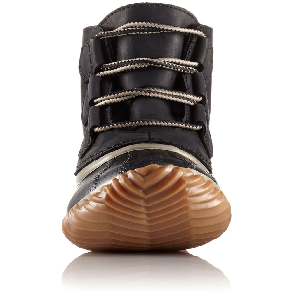 SOREL Women's Out N About Duck Boots, Black - BLACK