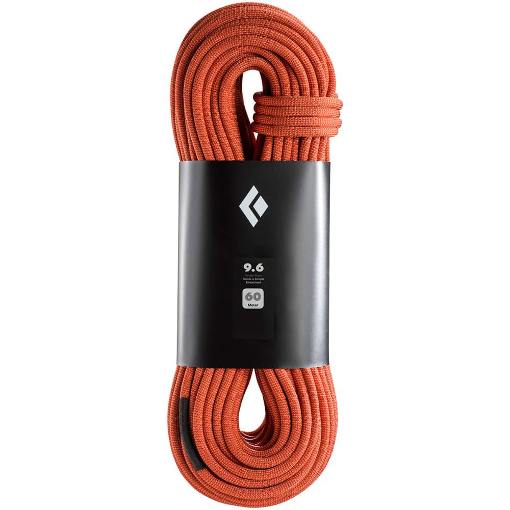 BLACK DIAMOND 9.6 MM x 60M Climbing Rope - DUAL RED ORANGE