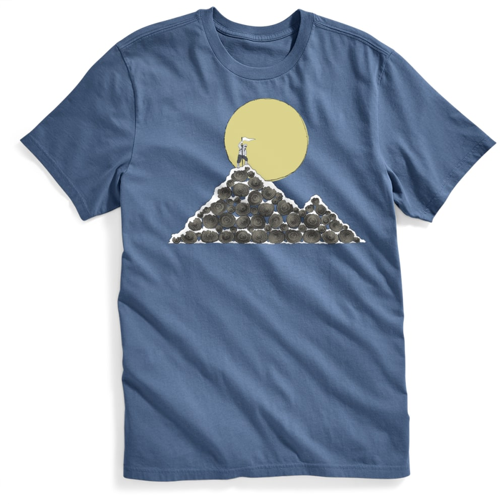 EMS Men's Log Mountain Graphic Tee - ENSIGN BLUE