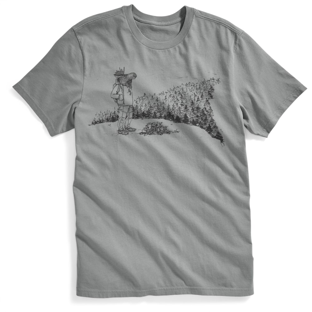 EMS® Men's Moose With a View Graphic Tee - NEUTRAL GREY