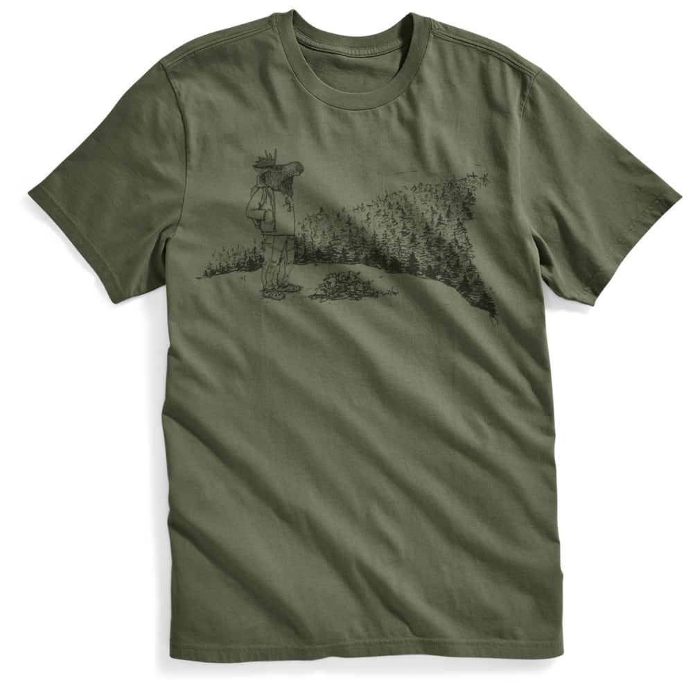EMS® Men's Moose With a View Graphic Tee - FOUR LEAF CLOVER