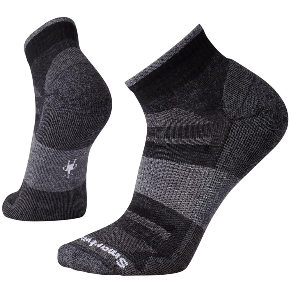 SMARTWOOL Men's Outdoor Advanced Light Mini Socks - CHARCOAL-003