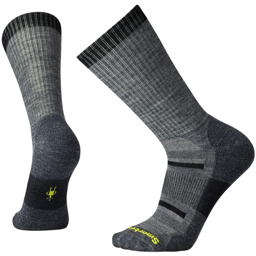SMARTWOOL Men's Outdoor Advanced Light Crew Socks - MED GREY-052