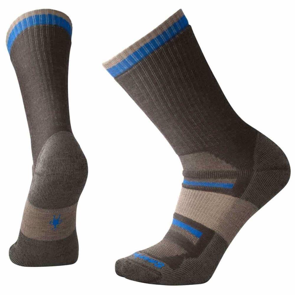 SMARTWOOL Men's Outdoor Advanced Medium Crew Socks - 207-CHESTNUT