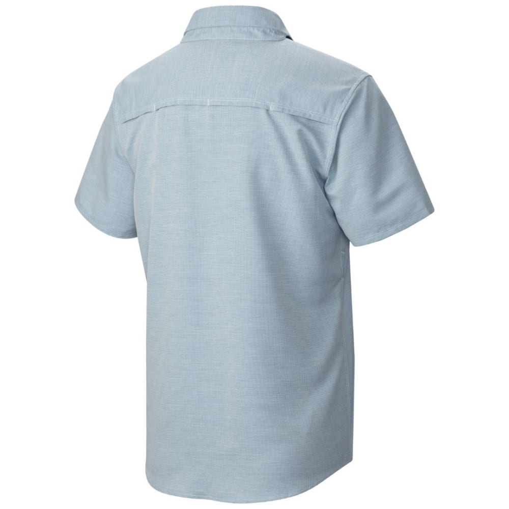 MOUNTAIN HARDWEAR Men's Canyon Short-Sleeve Shirt - 489-PHOENIX BLUE