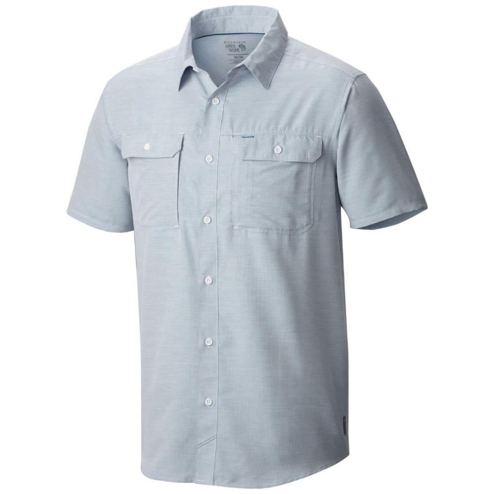 MOUNTAIN HARDWEAR Men's Canyon Short-Sleeve Shirt - 489-PHOENIX BLUE