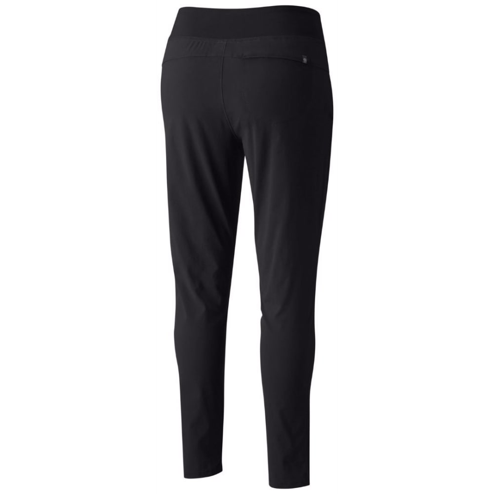 MOUNTAIN HARDWEAR Women's Dynama Ankle Pants - 010-BLACK