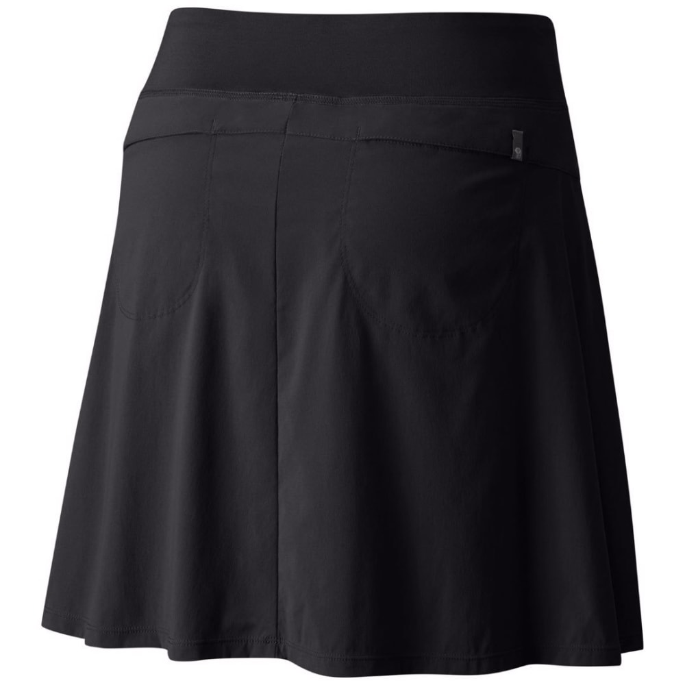MOUNTAIN HARDWEAR Women's Dynama Skort - 010-BLACK