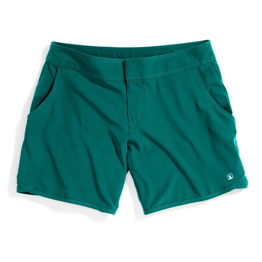EMS Women's Techwick Hydro Shorts - QUETZAL