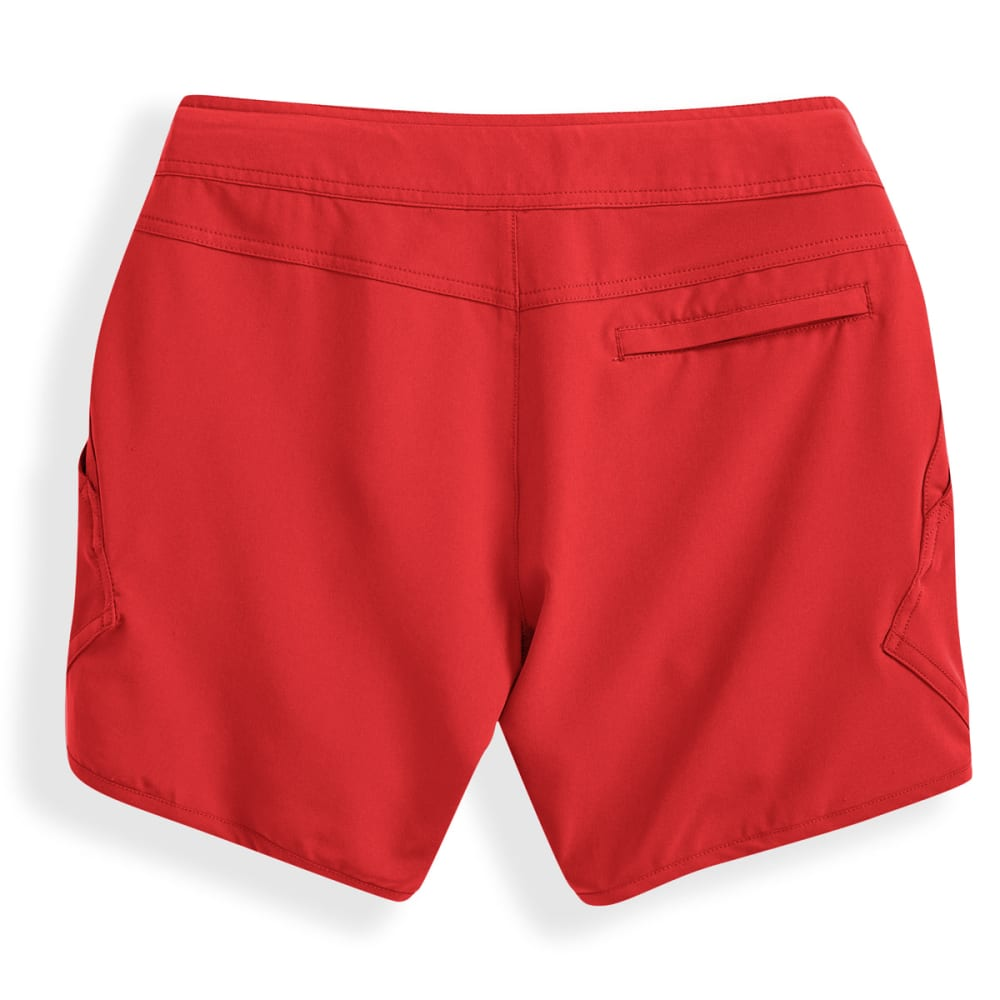 EMS Women's Techwick Hydro Shorts - POPPY