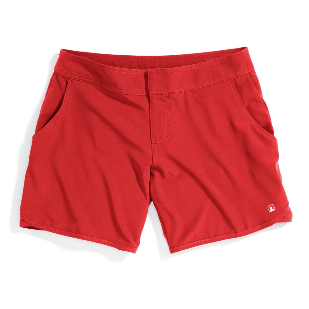 EMS® Women's Techwick® Hydro Shorts - POPPY