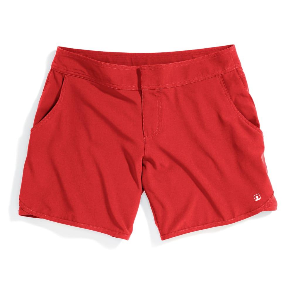 EMS Women's Techwick Hydro Shorts - POPPY