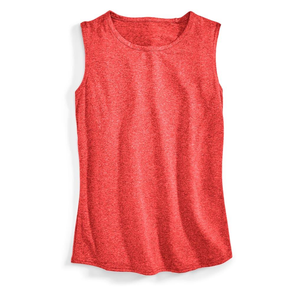 EMS® Women's Techwick Essence Muscle Tank - HIGH RISK RED HTR