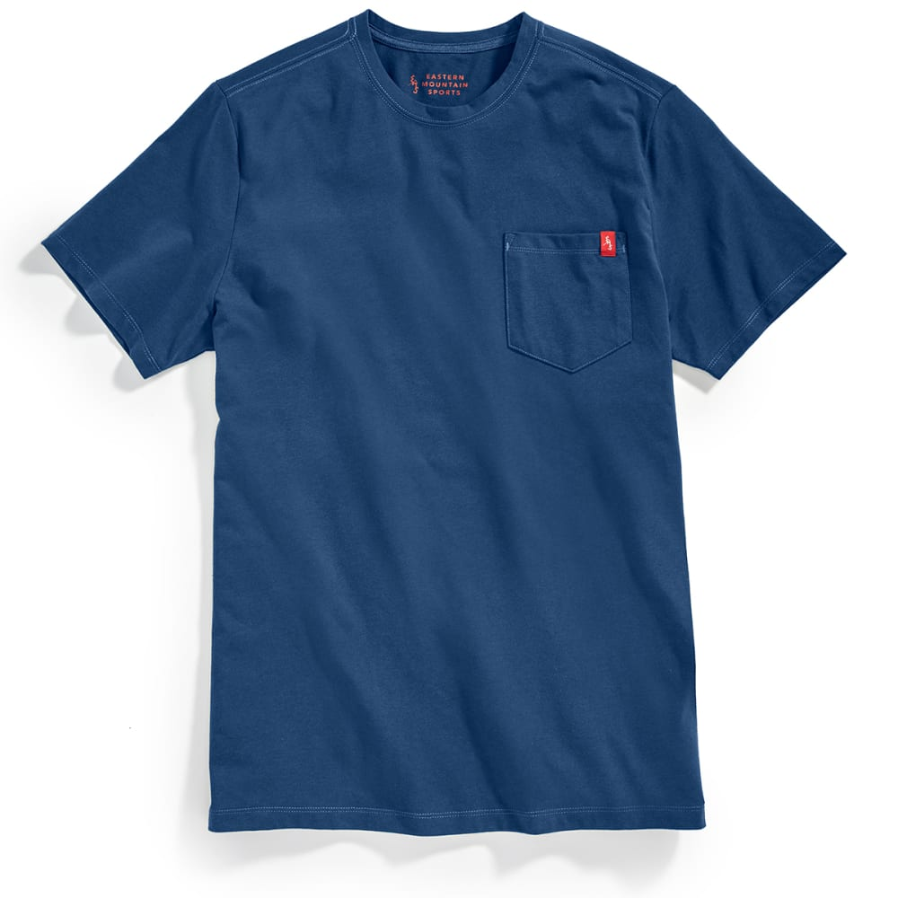 EMS Men's Simple Pocket Short-Sleeve Tee - BLUE WING TEAL