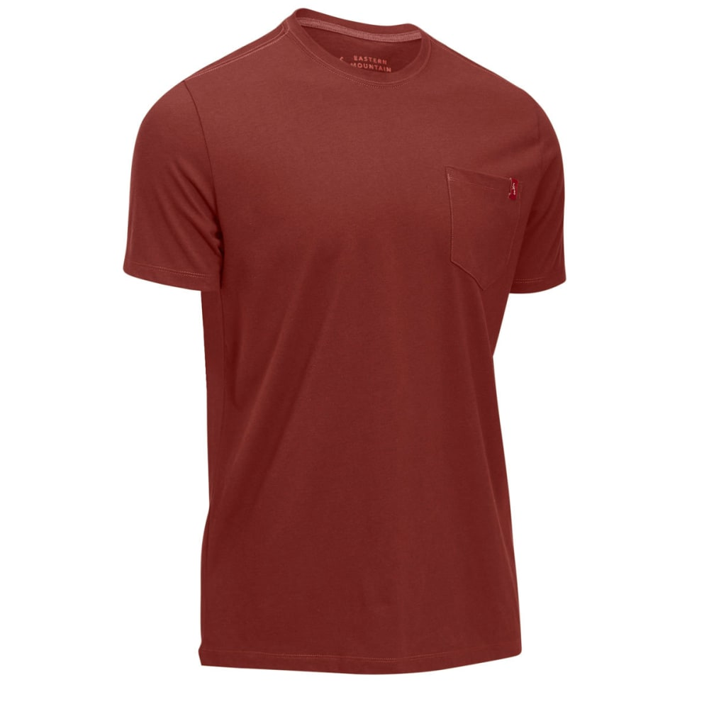 EMS® Men's Simple Pocket Short-Sleeve Tee - FIRED BRICK