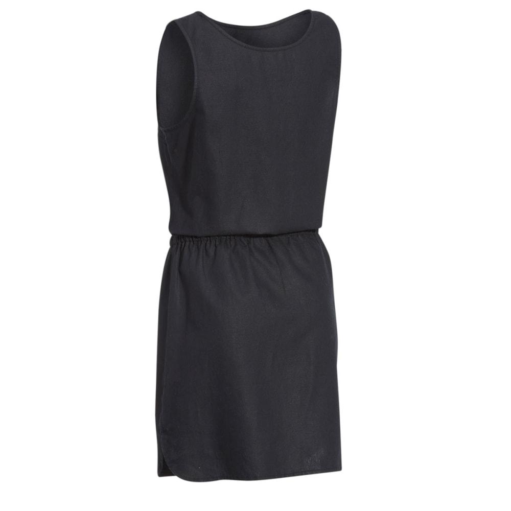 EMS® Women's Cambric Linen Dress - BLACK