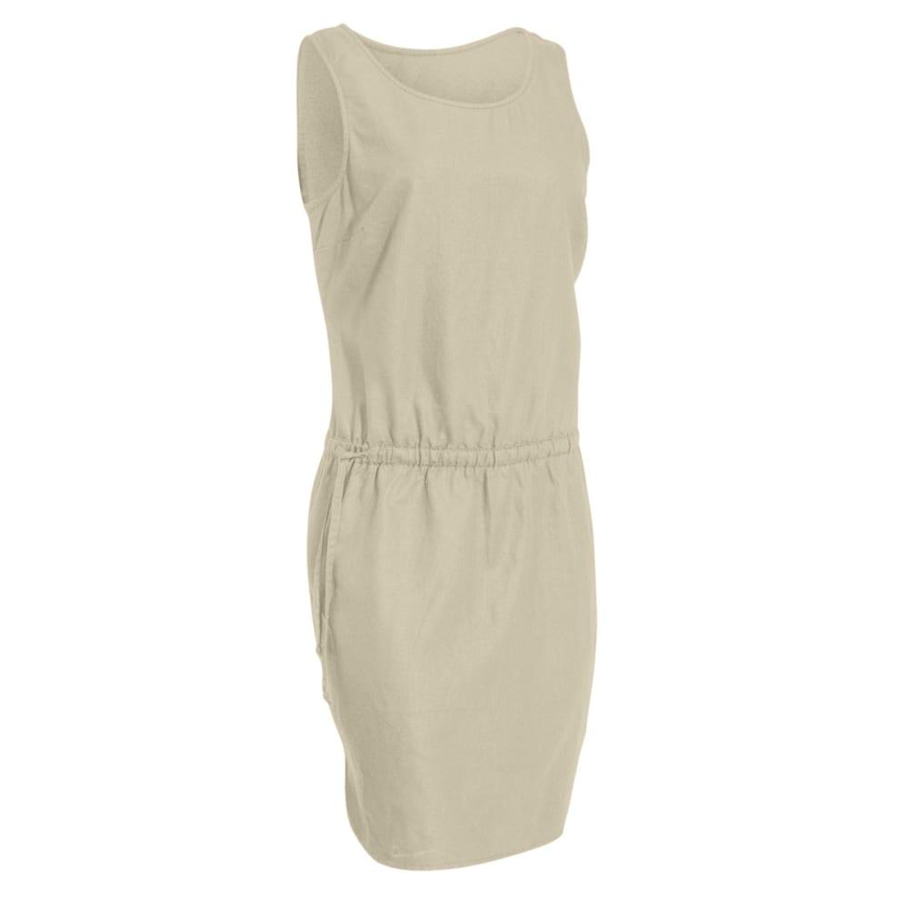 EMS Women's Cambric Linen Dress - FOSSIL
