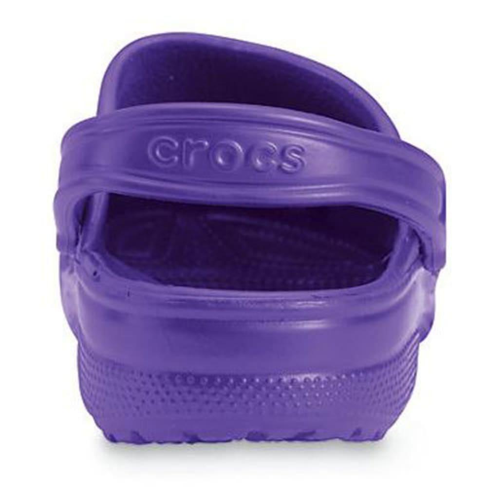 CROCS Adult Classic Clogs, Ultraviolet - ULTRA VIOLET