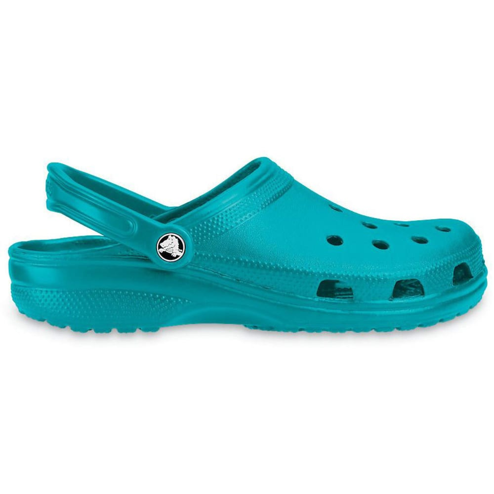 CROCS Adult Classic Clogs, Turquoise - TURQUOISE