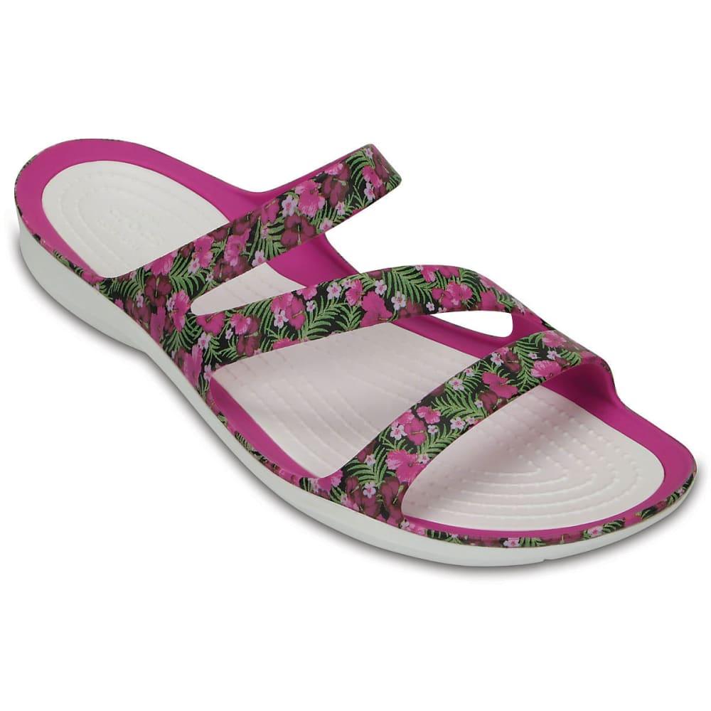 b192a02a122f CROCS Women  39 s Swiftwater Graphic Sandals