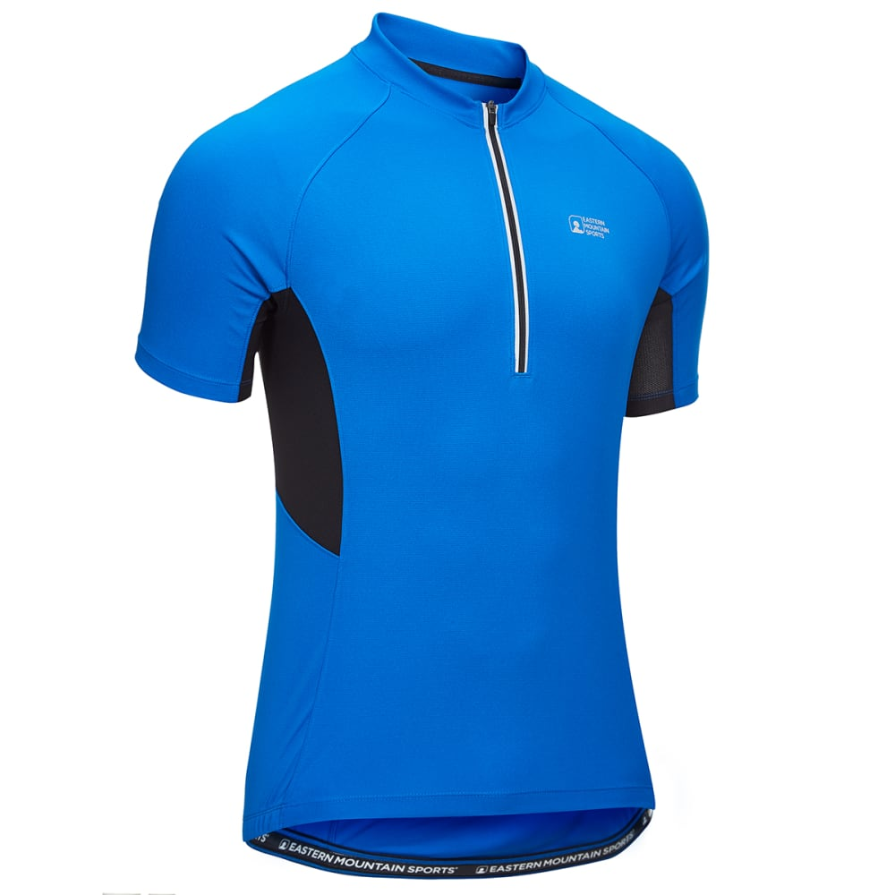 EMS Men's Velo Cycling Jersey - LAPIS BLUE/BLK
