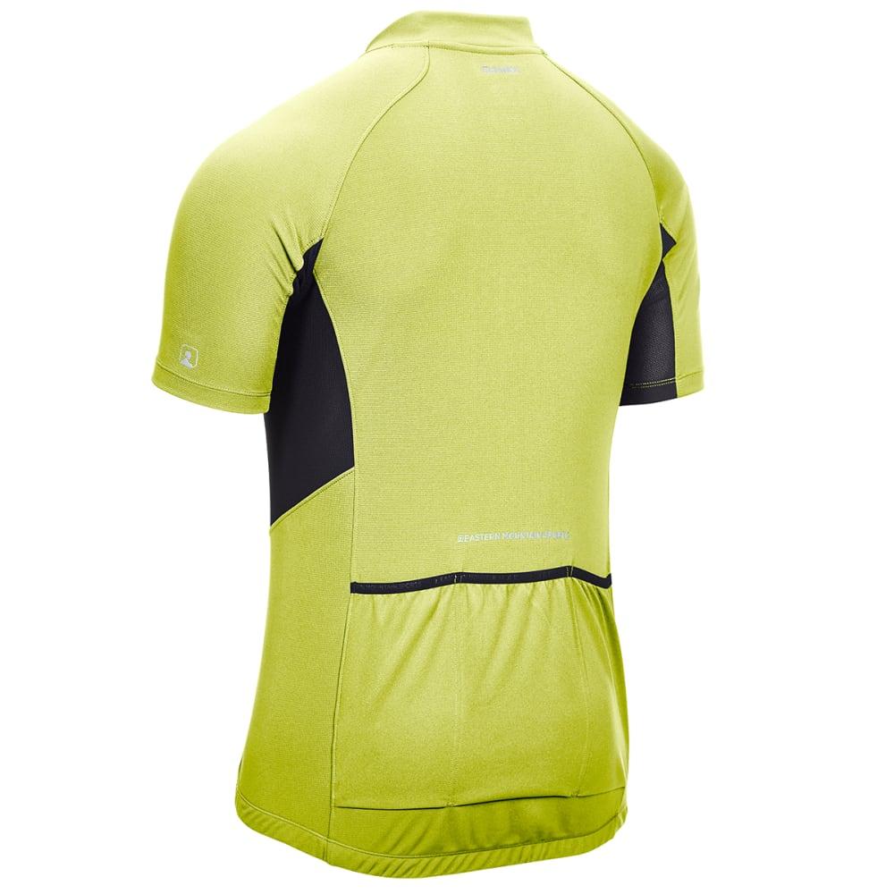 EMS Men's Velo Cycling Jersey - SULPHUR SPRING/BLK