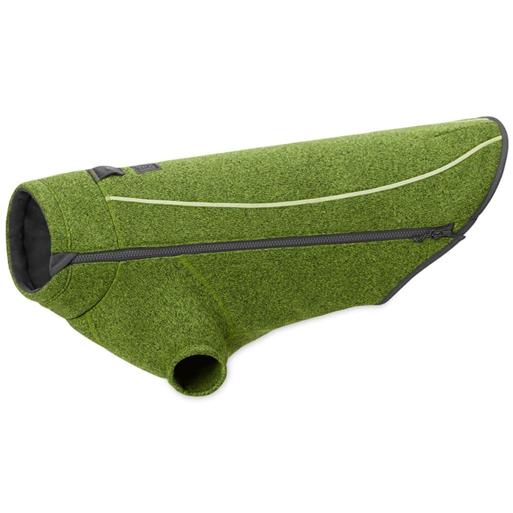 RUFFWEAR Fernie Sweater Knit Fleece Dog Jacket - HEMLOK GRN/0590-310