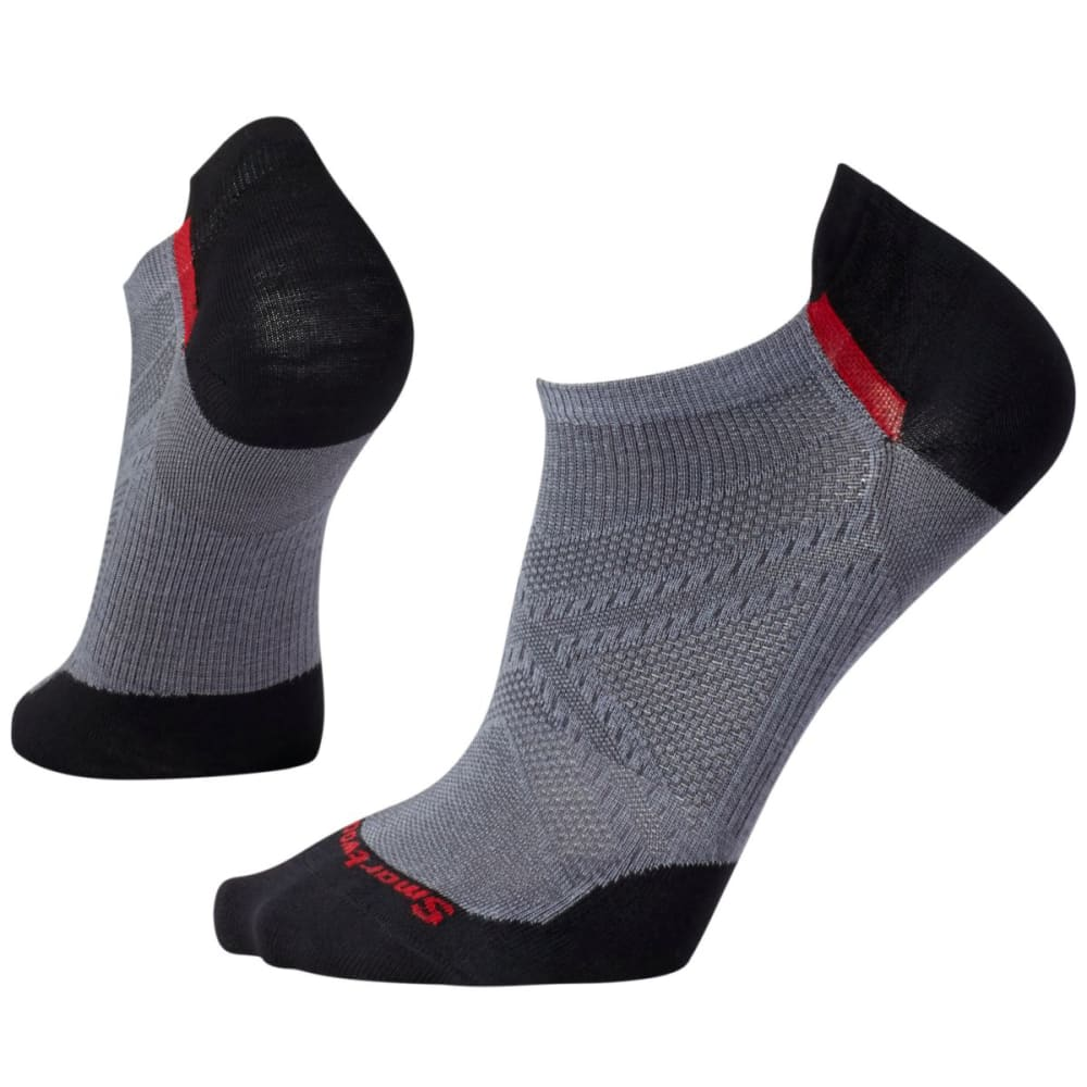 SMARTWOOL Men's PhD Cycle Ultra Light Micro Socks - GRAPHITE-018