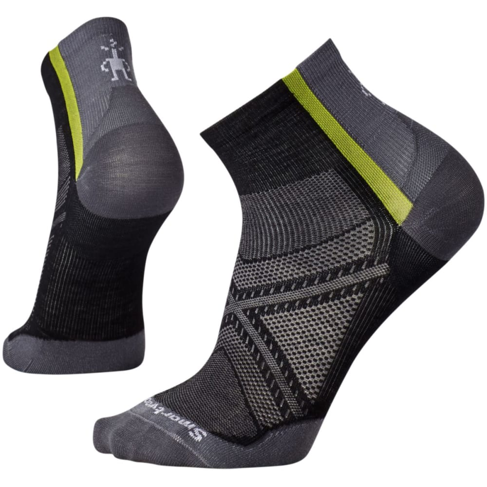 SMARTWOOL Men's PhD Cycle Ultra Light Mini Socks - BLACK-001