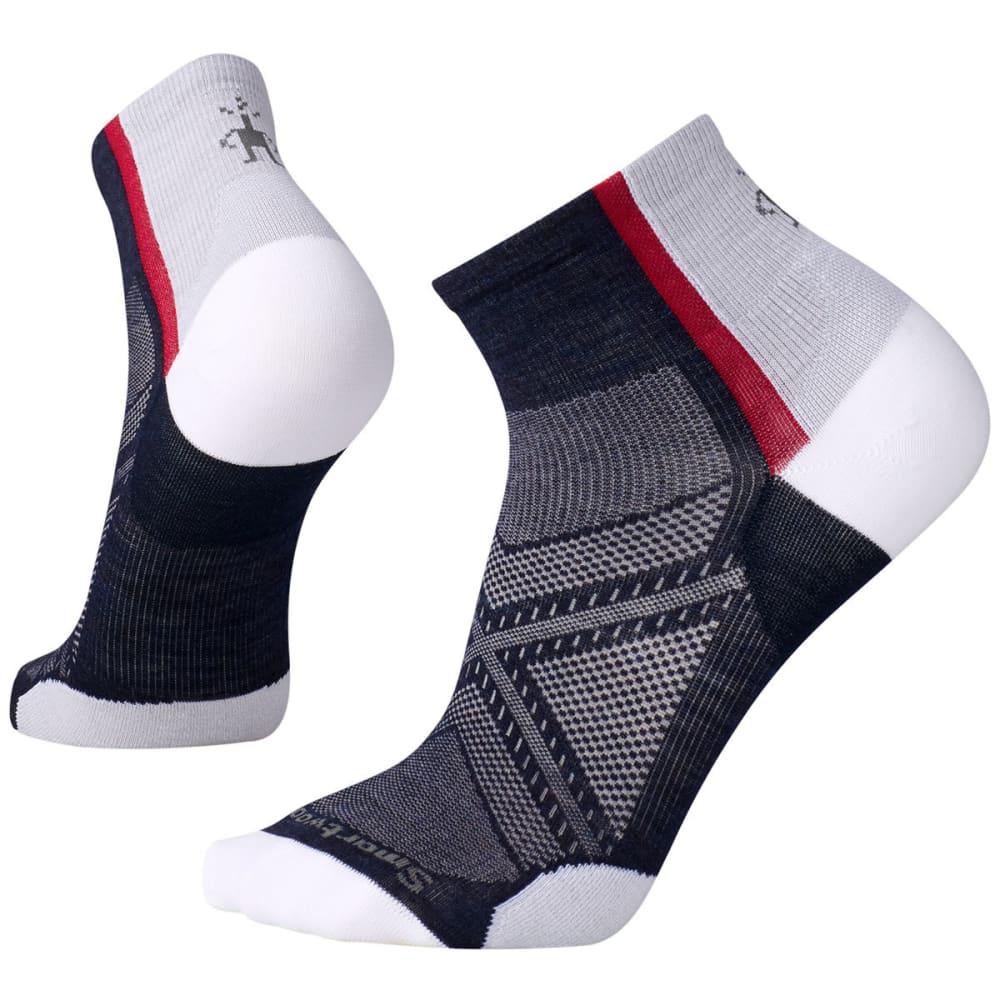 SMARTWOOL Men's PhD Cycle Ultra Light Mini Socks - 092-DEEP NAVY