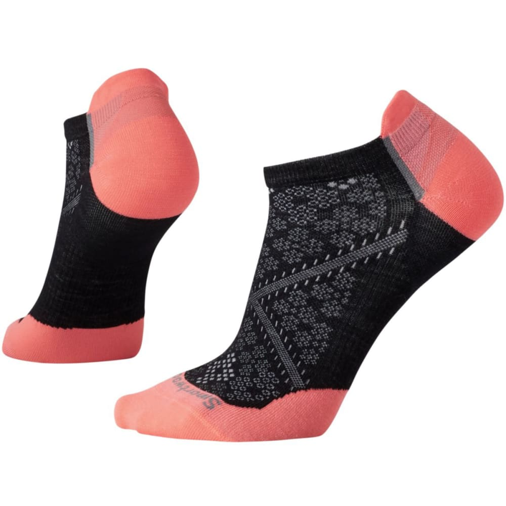 SMARTWOOL Women's PhD Cycle Ultra Light Micro Socks - BLACK 001