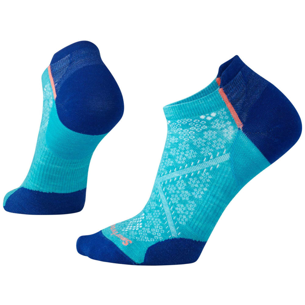 SMARTWOOL Women's PhD Cycle Ultra Light Micro Socks - 810-CAPRI