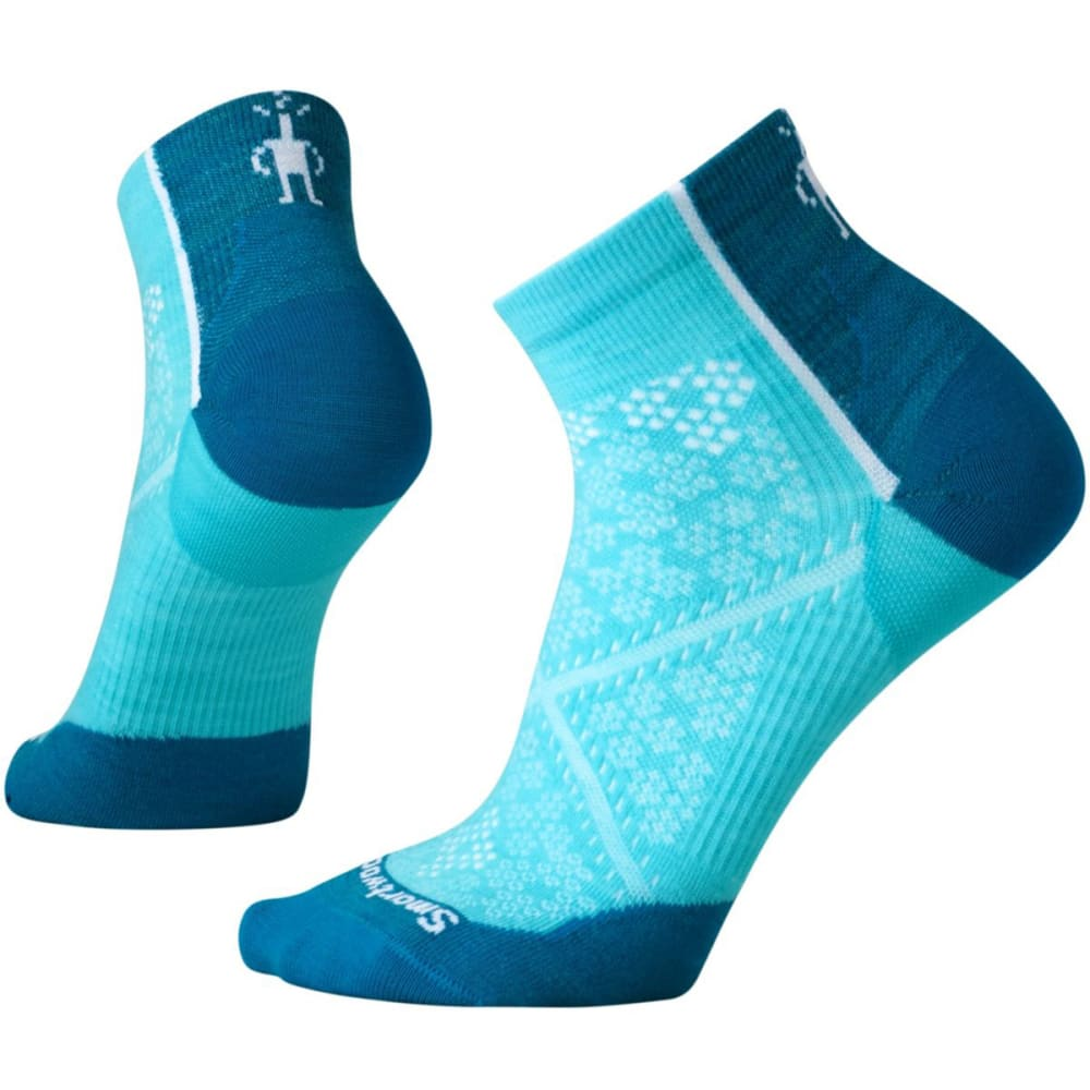 SMARTWOOL Women's PhD Cycle Ultra Light Low Cut Socks - LT CAPRI 438