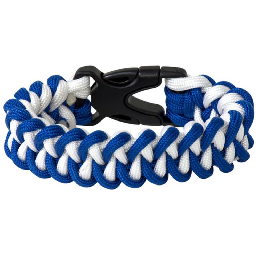 CHUMS Rainier Paracord Survival Bracelet - BLUE/WHITE/34200833