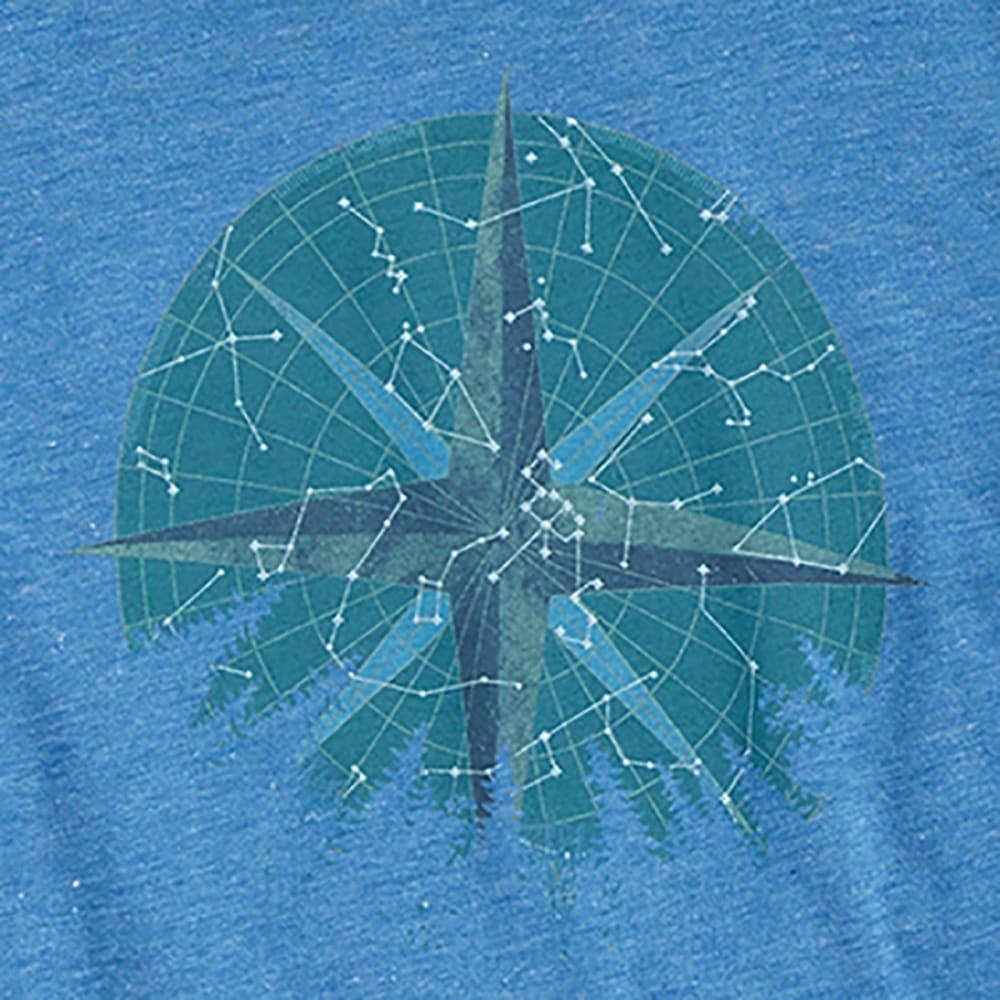 EMS® Boys' Techwick® Vital North Star Long-Sleeve Graphic Tee - DELFT LIGHT HTR