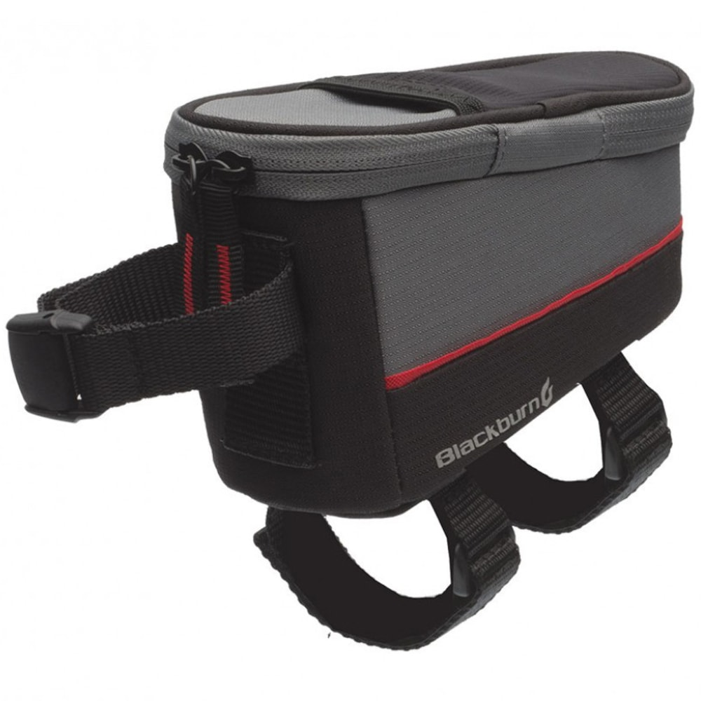 BLACKBURN Local Top Tube Bag - BLACK/GREY