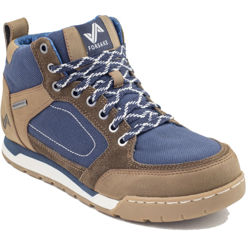 FORSAKE Men's Clyde Waterproof Boots, Brown/Navy - BROWN/NAVY