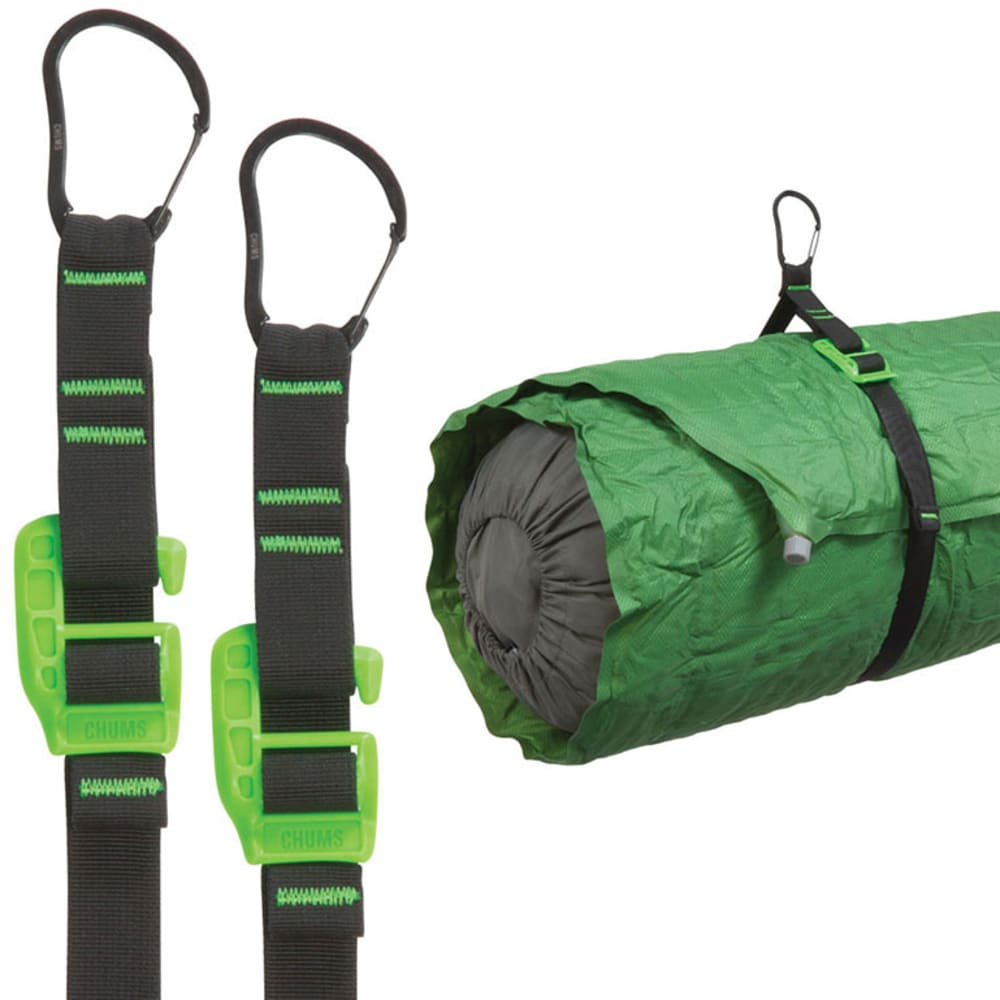 CHUMS Stowaway Equipment Strap - GREEN/30064 36""