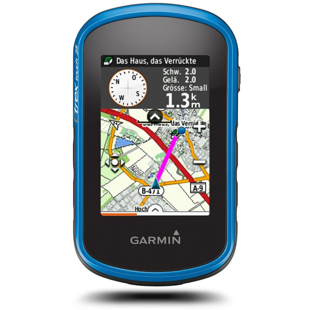GARMIN GPS eTrex Touch 25 - ROYAL BLUE