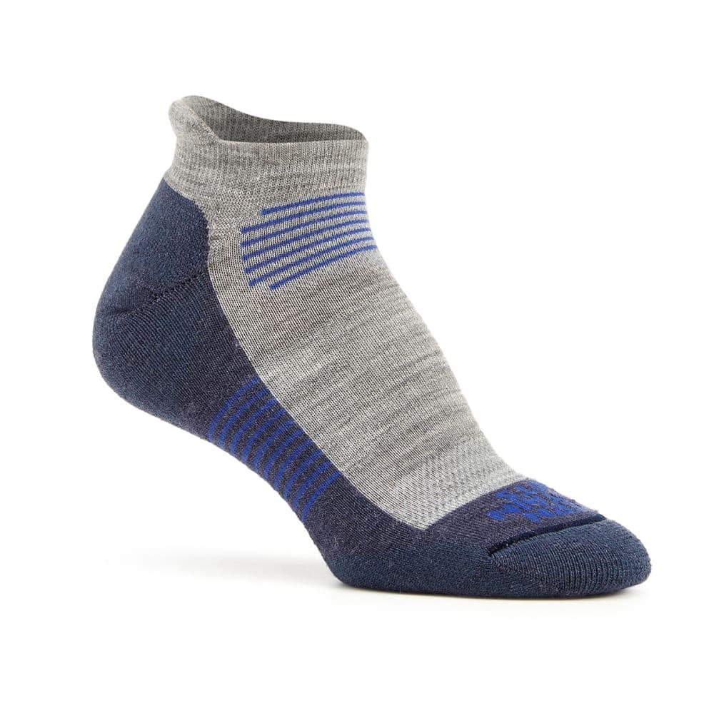 EMS Women's Track Lite Tab Ankle Socks - CROWN BLUE-02277
