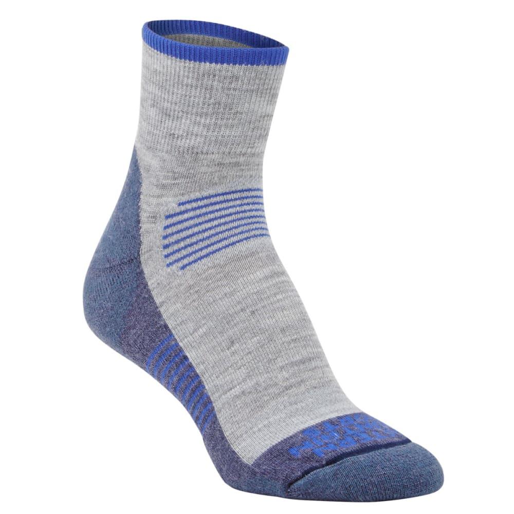 EMS Women's Track Lite Quarter Socks - CROWN BLUE-02277