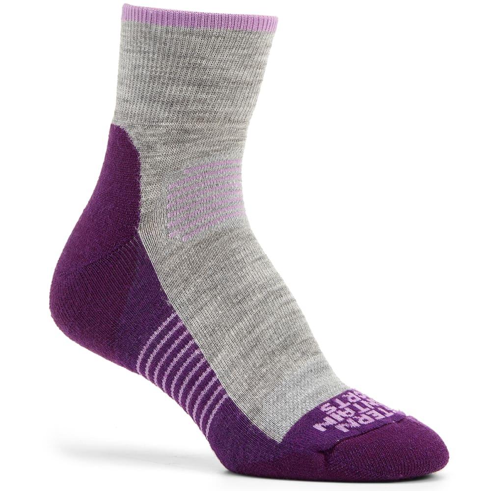 EMS Women's Track Lite Quarter Socks - MAJESTY-02561