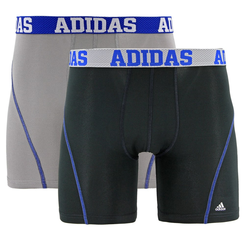 ADIDAS Men's Sport Performance Climacool Boxer Briefs, 2 Pack S