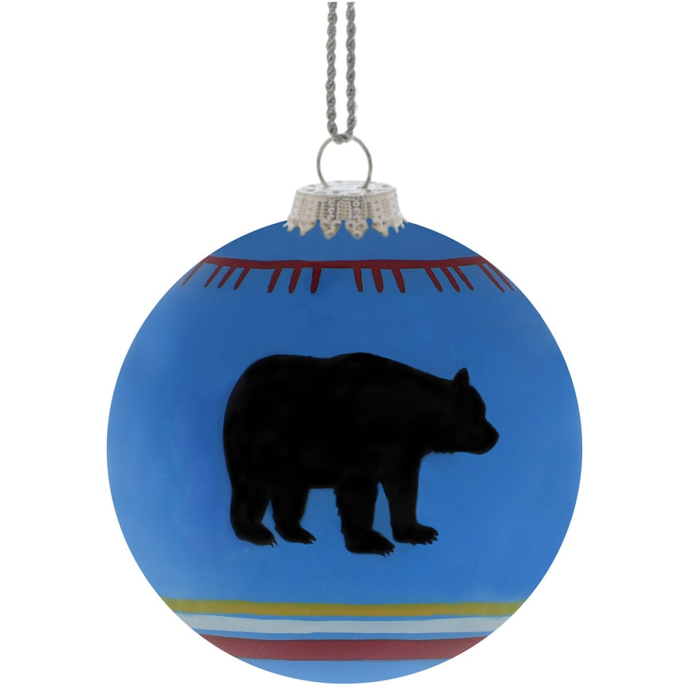 GSI OUTDOORS Blue Bear Blanket Ornament - BLUE