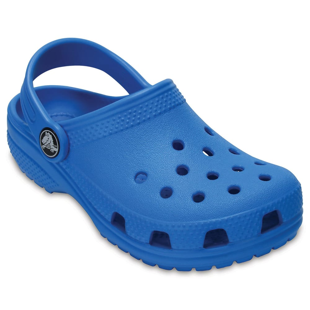 CROCS Toddler's Classic Clogs, Ocean 6