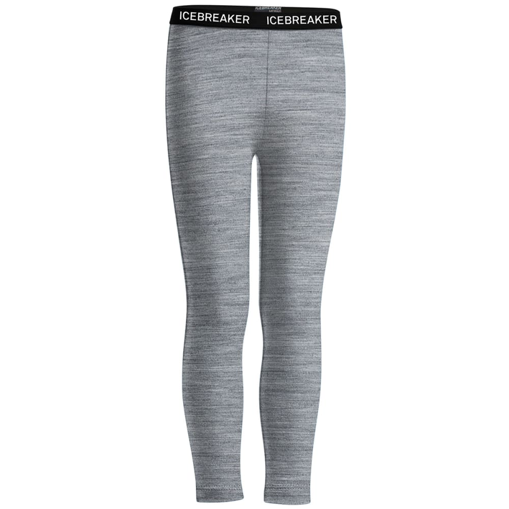 ICEBREAKER Kids' Oasis Leggings - METRO GREY 002