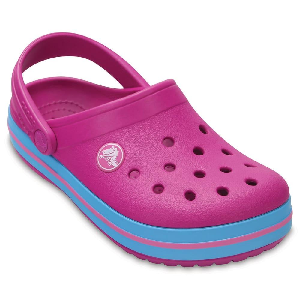 CROCS Girls' Crocband Clogs, Vibrant Violet 1