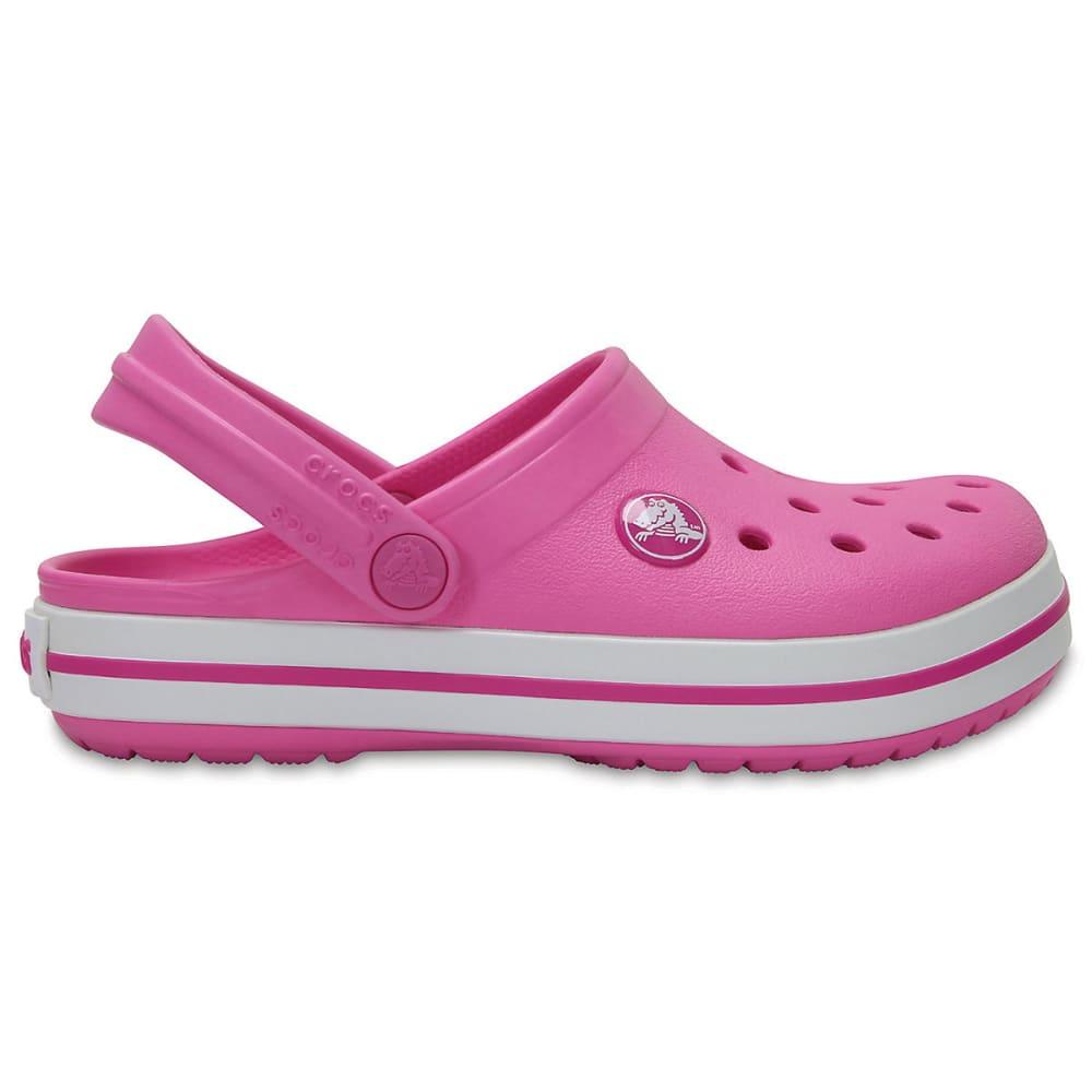 CROCS Girls' Crocband Clogs, Vibrant Violet - PARTY PINK-6U9