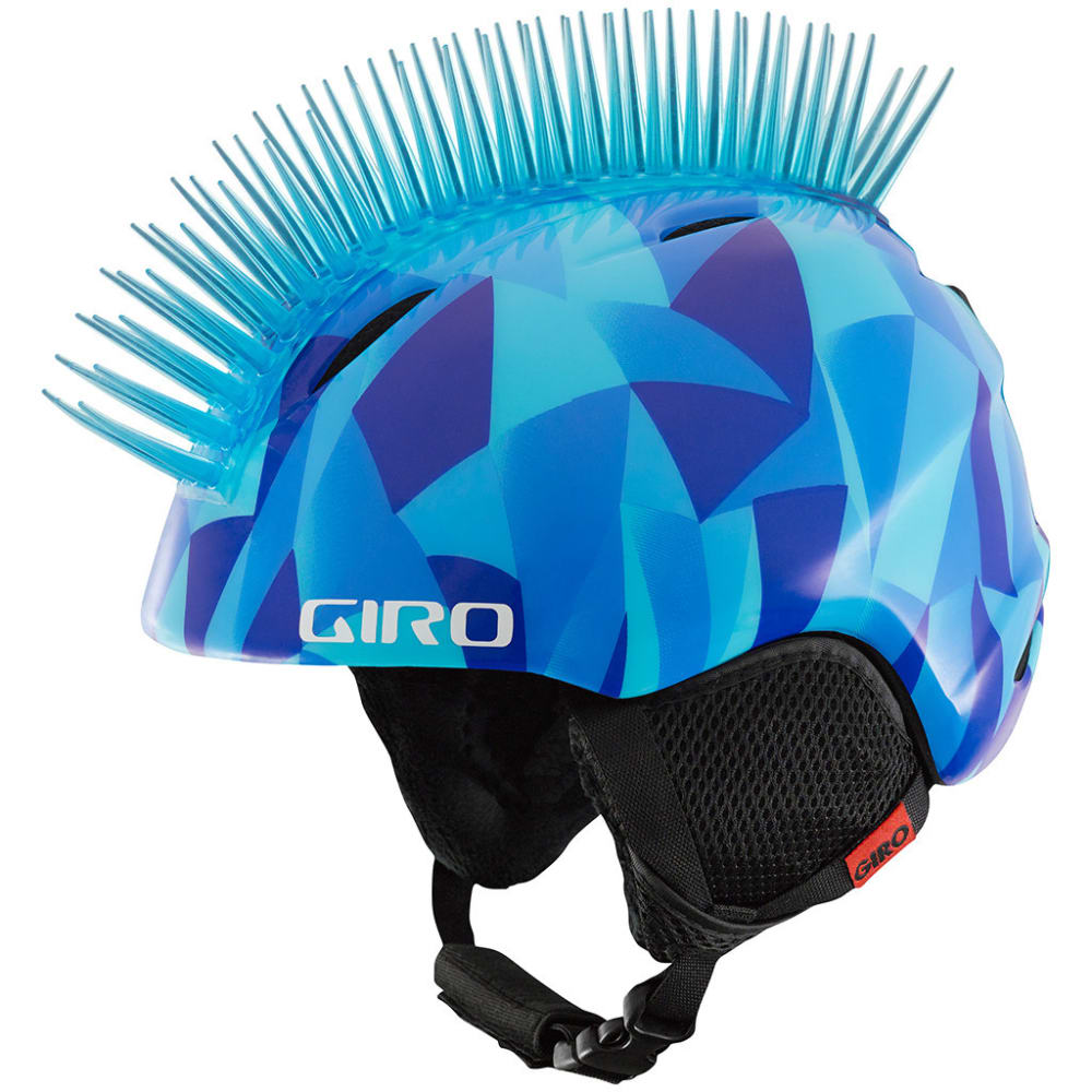 GIRO Youth Launch Plus Helmet - BLUE ICHAWK